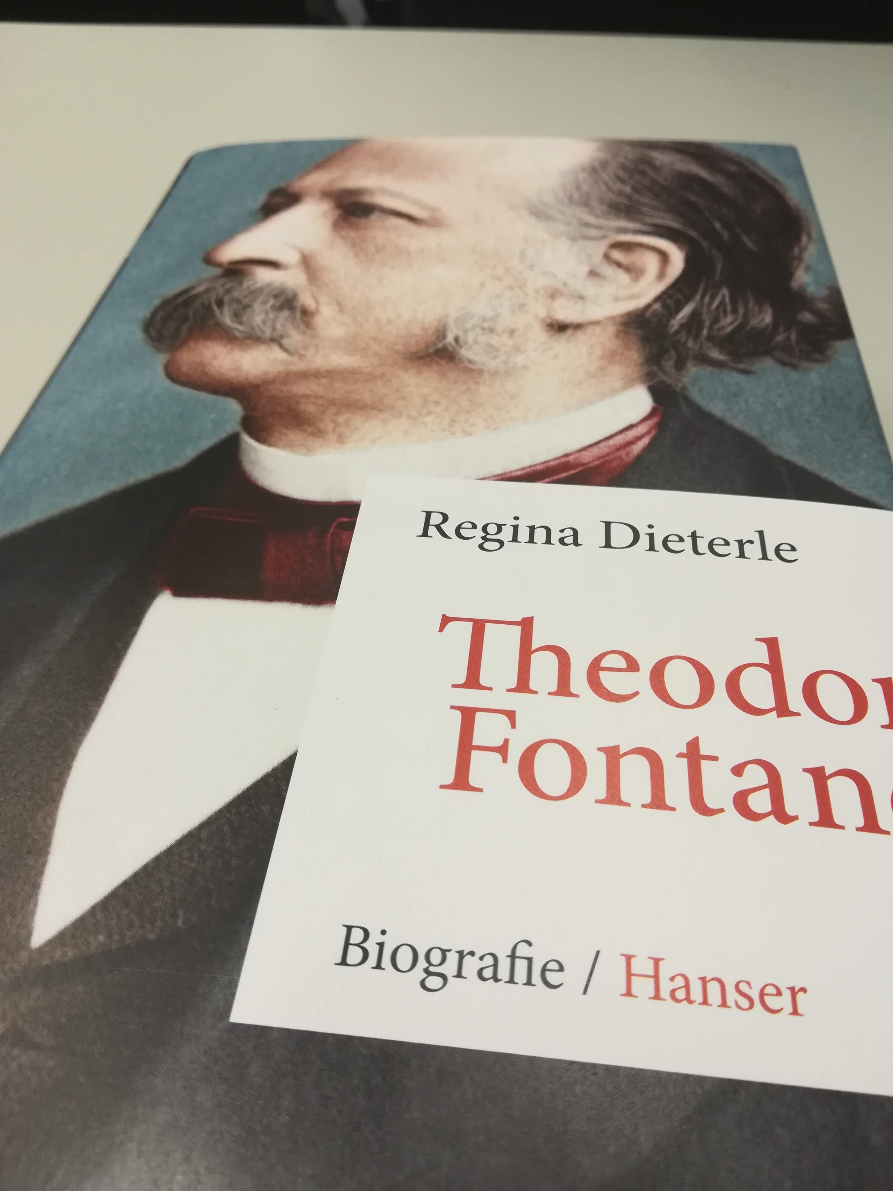 Regina Dieterle: Theodor Fontane. Biografie (Verlagscover)