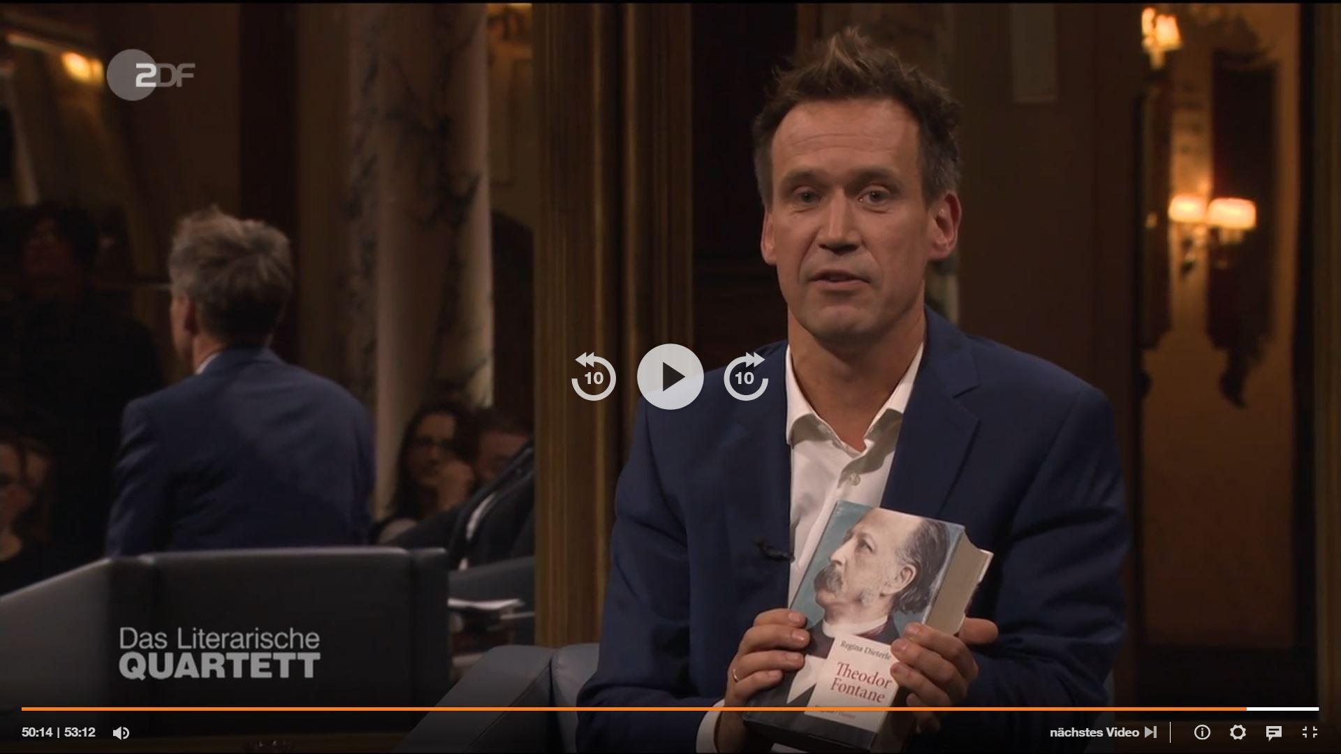 Volker Weidermann - Fontane, Regina Dieterle